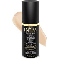 Maquillaje líquido con certificación orgánica de INIKA - Nude