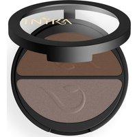 Dúo de sombras de ojos minerales compactas de INIKA - Choc Coffee