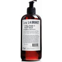 L:A BRUKET No. 104 Hand and Body Wash 450ml - Bergamot/Patchouli