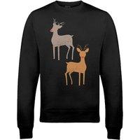 Rudolph Xmas Sweatshirt - XL - Black