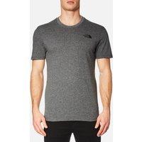 The North Face Men's Simple Dome Short Sleeve T-Shirt - TNF Medium Grey Heather - M