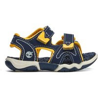 Timberland Toddlers' Adventure Seeker 2 Strap Sandals - Navy With Yellow - UK 7.5 Toddler