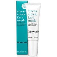 Mascarilla facial Stress Check de this works 50 ml