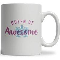 Queen of Awesome Ceramic Mug
