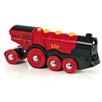 Brio Mighty Red Action Locomotive
