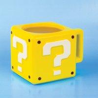 Nintendo Super Mario Question Block Mug - Yellow - Computer Games Gifts