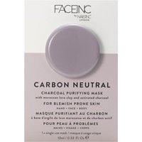 Mascarilla purificante Carbon Neutral Charcoal Purifying Pod de FACEINC by nails inc. 10 ml