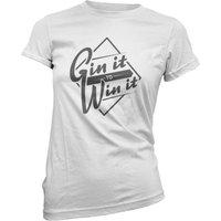 Gin it to Win it Women's T-Shirt - White - XL - White