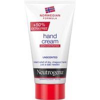 Crema de manos concentrada sin olor Fórmula Noruega de Neutrogena 75 ml
