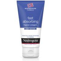 Crema de manos de rápida absorción Fórmula Noruega de Neutrogena 75 ml
