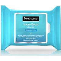 Toallitas limpiadoras Hydro Boost de Neutrogena 25 toallitas