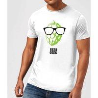 Beershield Beer Geek Men's T-Shirt - XXL - White - Beer Gifts