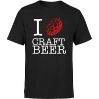 Beershield I Hop Craft Beer Men's T-Shirt - XXL - White - Beer Gifts