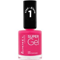 Rimmel Super Gel Nail Varnish 12ml (Various Shades) - 26 Sun Fun Daze