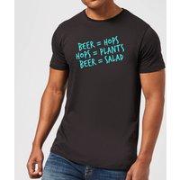 Beershield Beer Salad Men's T-Shirt - XXL - Black - Beer Gifts
