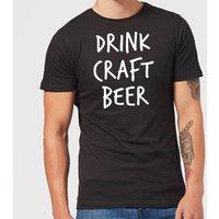 Beershield Drink Craft Beer Men's T-Shirt - S - Black - Beer Gifts