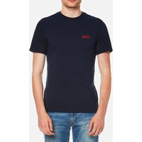 Barbour International Mens Small Logo T-Shirt - Navy - M