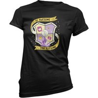 Purple Guild Women's Black T-Shirt - XXL - Black