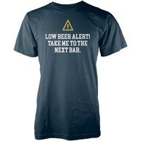 Vo Maria Beer Alert Men's Navy T-Shirt - XXL - Alcohol Gifts