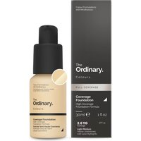 The Ordinary Coverage Foundation with SPF 15 by The Ordinary Colours 30ml (Various Shades) - 2.0YG