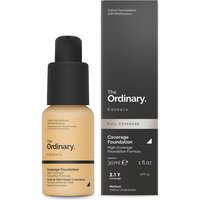 The Ordinary Coverage Foundation with SPF 15 by The Ordinary Colours 30ml (Various Shades) - 2.1Y