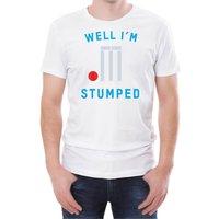 Well I'm Stumped Men's White T-Shirt - L - White