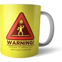 Warning Dad Dancing Mug - Dancing Gifts