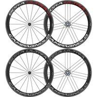 Campagnolo Bora Ultra 50 Tubular Wheelset 2018 - Shimano/SRAM - Dark Label