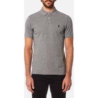 Polo Ralph Lauren Men's Custom Slim Fit Mesh Polo Shirt - Canterbury Heather - XXL