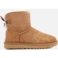 UGG Women's Mini Bailey Bow II Sheepskin Boots - Chestnut - UK 3