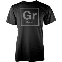 Gr Periodic Element Mens Black T-Shirt - L - Black