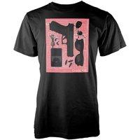 Chase Me Men's Black T-Shirt - XL - Black