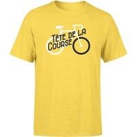 Tete De La Course Men's Yellow T-Shirt - M - Yellow
