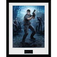 Resident Evil Leon Gun - 16 x 12 Inches Framed Photograph - Gun Gifts