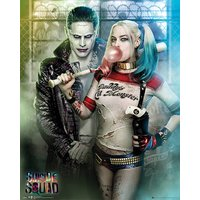 Suicide Squad The Joker and Harley Quinn - 40 x 50cm Mini Poster - Poster Gifts