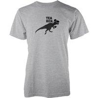 Tea Rex Grey T-Shirt - XL - Grey