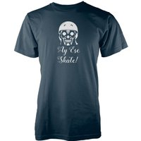 Ay Ese Skate! Navy T-Shirt - M - Navy