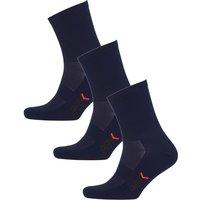 PBK Lightweight Socks Multipack - 3 Pairs - Blue - S-M - Blue
