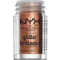 NYX Professional Makeup Face & Body Glitter (Various Shades) - Copper