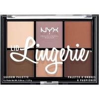 NYX Professional Makeup Paleta de Sombras de Ojos Lid Lingerie