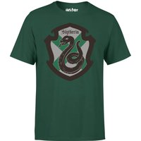 Harry Potter Slytherin House Green T-Shirt - M - Green - Harry Potter Gifts