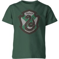 Harry Potter Slytherin House Green Kid's T-Shirt - 9-10 Years - Green - Harry Potter Gifts