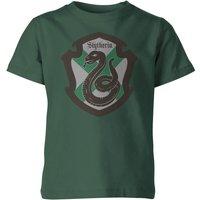 T-Shirt Harry Potter Serpeverde House Green Kid's - 3-4 Anni