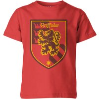 T-Shirt Harry Potter Grifondoro Red Kid's - 3-4 Anni - Rosso