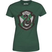 Harry Potter Slytherin House Green Women's T-Shirt - S - Green - Harry Potter Gifts
