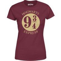 Harry Potter Platform Burgundy Women's T-Shirt - XXL - Harry Potter Gifts