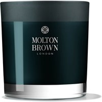 Image of Molton Brown Russian Leather Three Wick Candle 480g