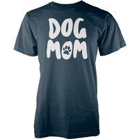 Dog Mom Navy T-Shirt - XL - Navy
