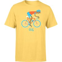 Slow And Steady Sloth Men's Yellow T-Shirt - XXL - Yellow