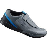 Shimano AM9 MTB Shoes - for SPD - Grey/Blue - UK 4/EU 38 - Grey/Blue